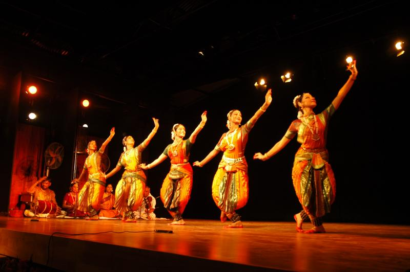 Bharatanatyam, Ancient Indian classical dance form from Tamilnadu