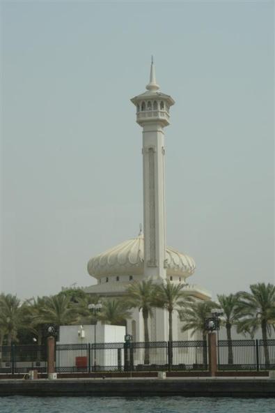 Qué ver en Dubai: Grand Mosque desde el Creek Qué ver en Dubai - 3839707347 421278a56c o - Qué ver en Dubai, el oasis inacabado