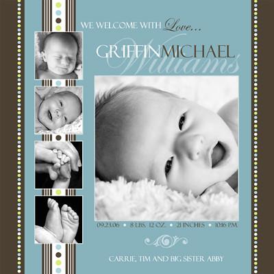 Baby Birth Announcement Photoshop Templates Volume 1 Flickr