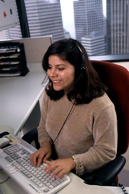Seattle Public Utilities customer service representative
