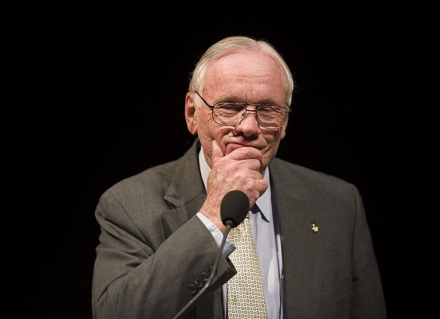 Glenn Lecture With Crew of Apollo 11 (200907190014HQ)