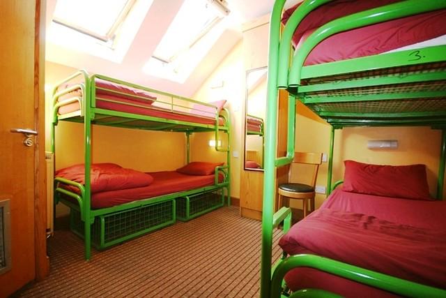 Dorm Room / Barnacles Hostel / Dublin / Ireland