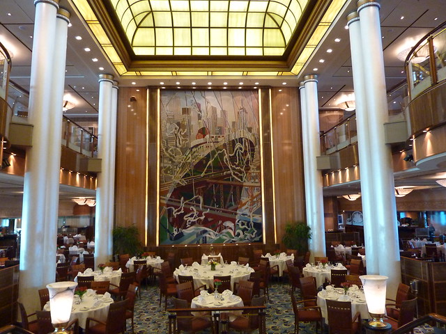 Britannia Restaurant Queen Mary 2 QM2 (3)