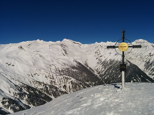 """Gipfelblick Gornerberg """"Henne"""""""