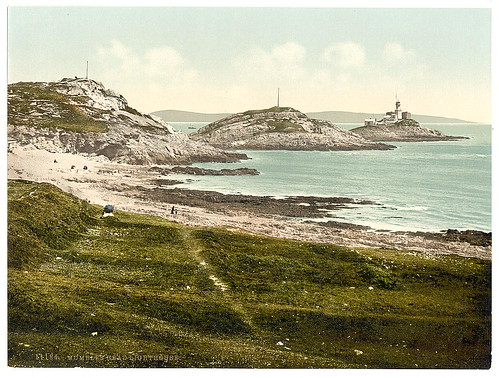 [Mumbles Head Lighthouse, Mumbles, Wales] (LOC)