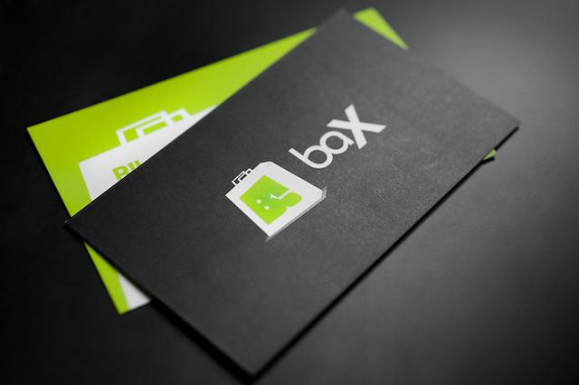 b!-bax businesscard