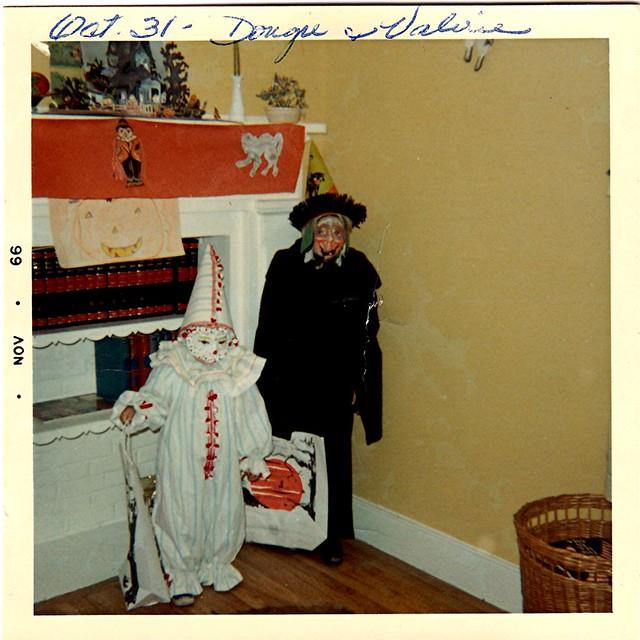 Doug & Val Halloween 1966