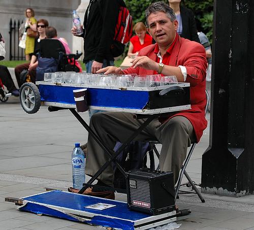 Stroppy Street Entertainer