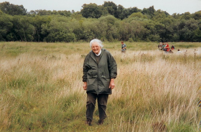 Phyllis Ellis MBE. Photograph From Flickr, Wheatfen Tribute Site