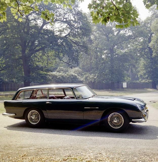Aston Martin DB5 Radford Shooting Brake Estate August 1972