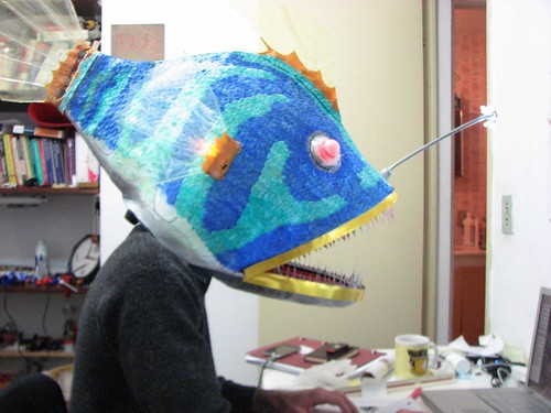 giant angler fish mask
