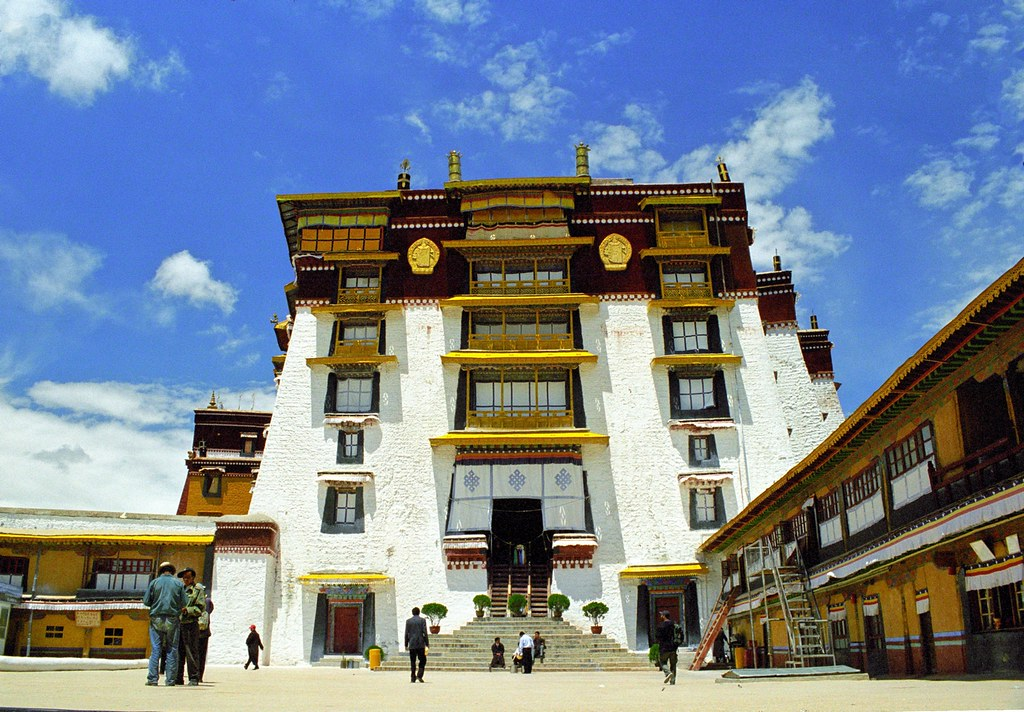 White Palace in the Potala Palace