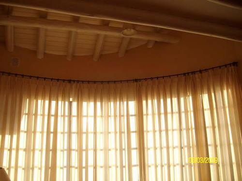 Cortina para ventana bow window  Flickr  Photo Sharing