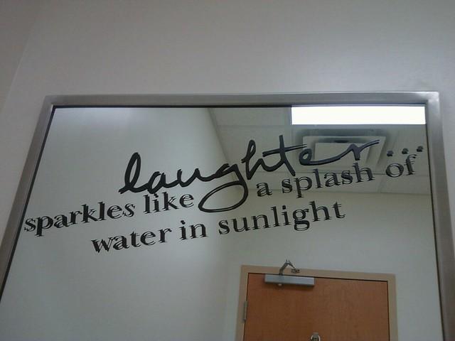 Inspirational Bathroom Mirror