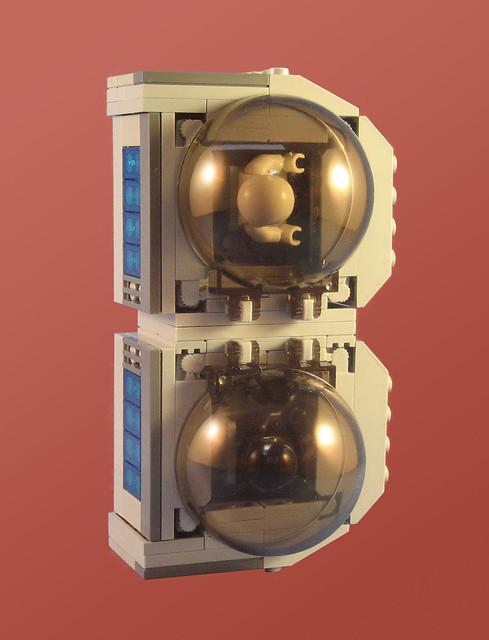 "MOC-006 ""B"" Spaceship"