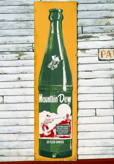 Old Mountain Dew Sign  Flickr  Photo Sharing