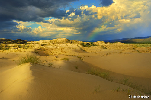"A stormy sky over ""Witsand"" by Martin_Heigan"