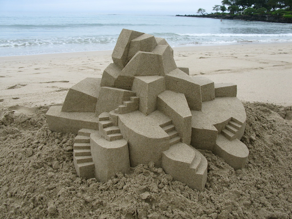 3342637365 fdb7f869dc b Geometric Sand Sculptures by Calvin Seibert
