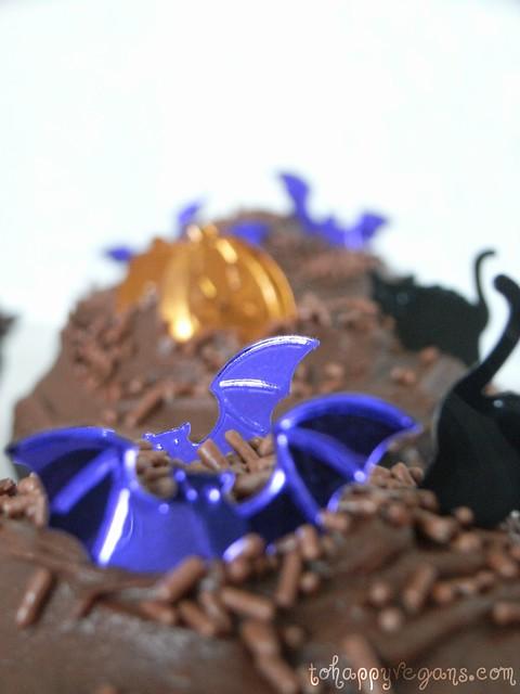 Halloween Chocolate Cupcake