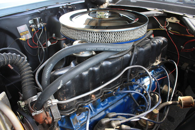 1966 Mustang Engine Bay Flickr Photo Sharing