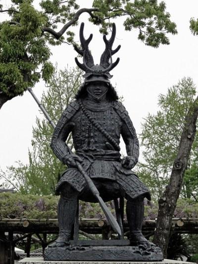 Honda Tadakatsu Statue