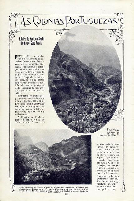 Ilustração Portugueza, No. 686, April 14 1919 - 19 by Gatochy