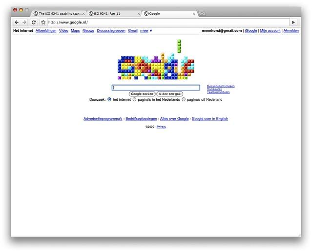Google Tetris Doodle Flickr Photo Sharing