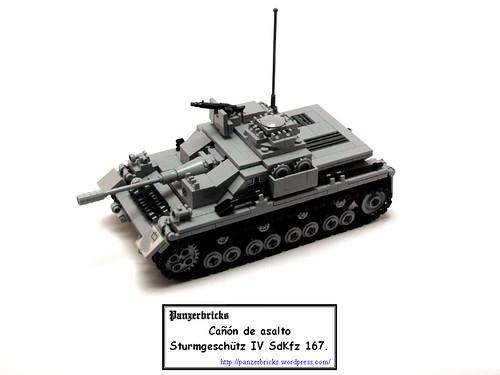 Sturmgeschütz IV de Panzerbricks