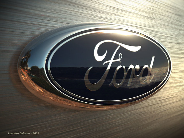 Ford Logo 3D Model Max Obj 3ds Fbx
