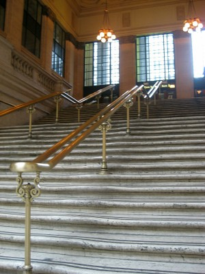 Chicago Union Station the baby carriage scene stairs from The Untouchables  Flickr  Photo