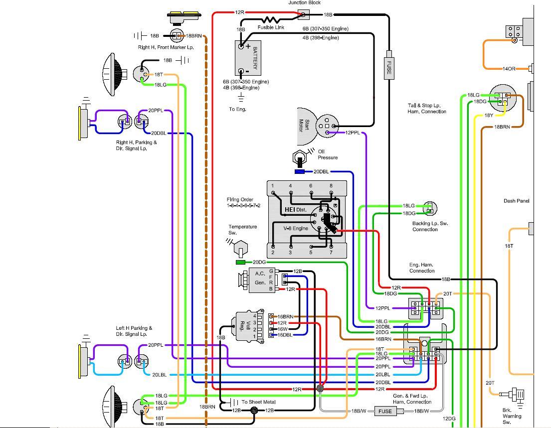 1968 chevelle wiring diagram ecklers 36 ima shimano ultegra shifter parts nova dash library