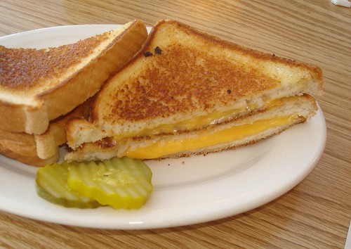 big boy triple decker grilled cheese