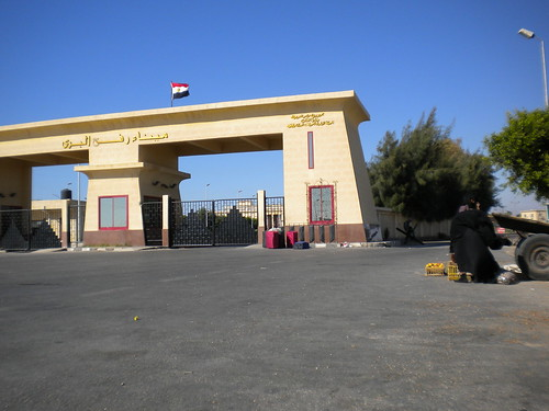 Rafah crossing to Gaza