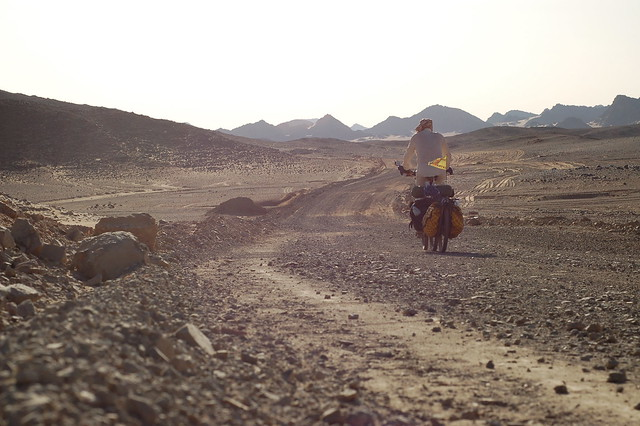 Riding the Nubian dirt tracks