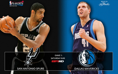 2009 NBA Spurs Playoffs Round 1 Wallpaper