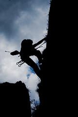 Climbing Silhouette