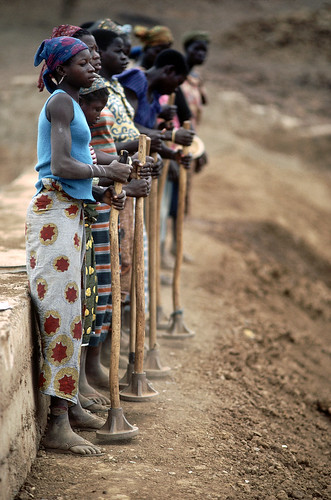 Waiting for Rain in Burkina Faso by United Nations Photo