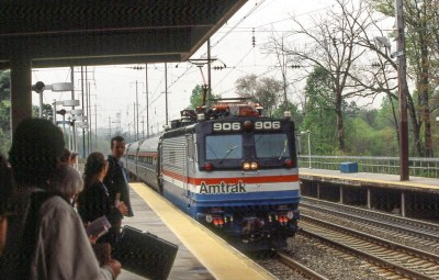 19950503 05 Amtrak BWI Station