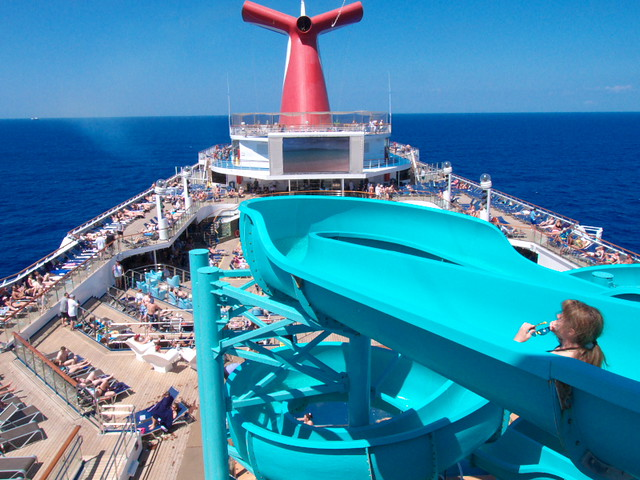 Day 2: At sea on the Carnival Valor