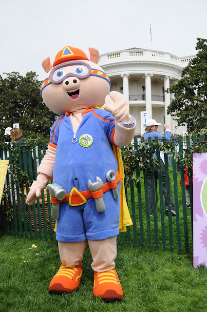 Alpha Pig from SUPER WHY on PBS KIDS  Flickr  Photo
