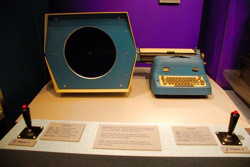 Spacewar--the world's first computer video game.