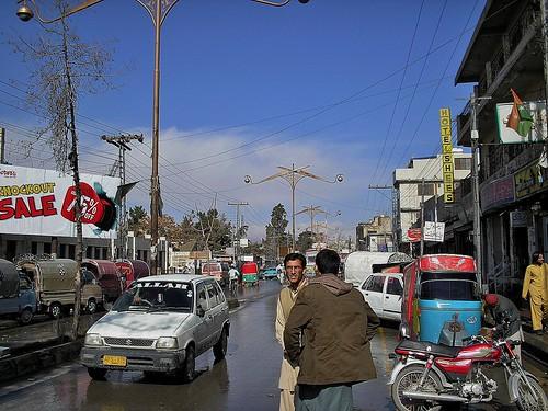 Winter in Quetta, Balochistan, Pakistan - February 2011