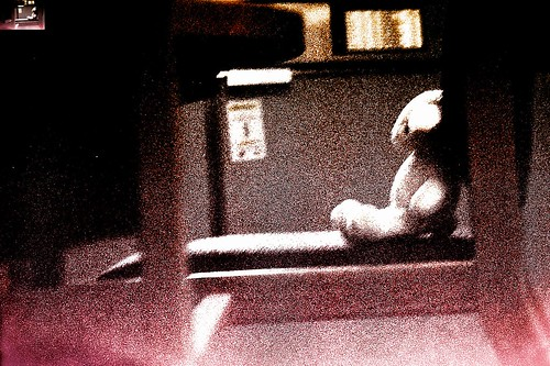 Grainy Toy Rabbit-- Still Shot