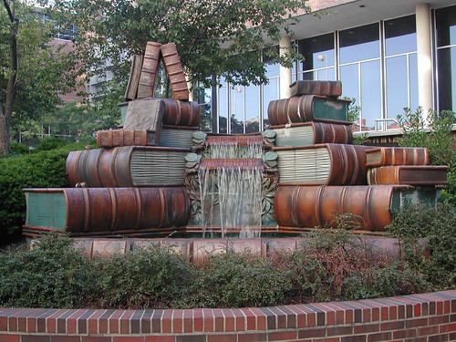 Book Fountain, Main Library
