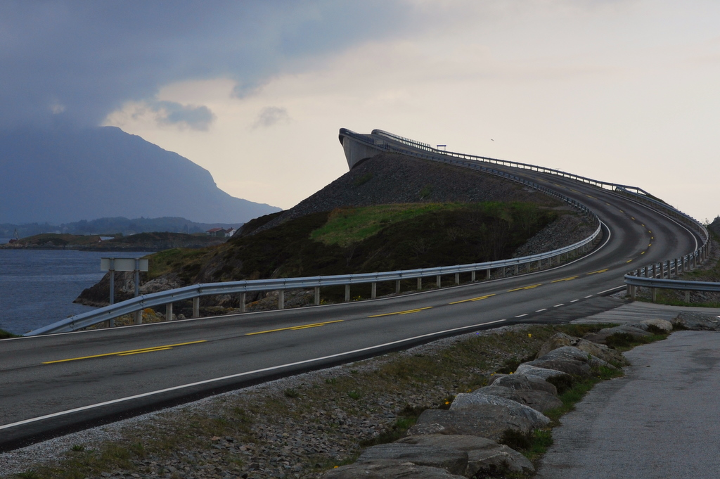 Atlanterhavsveien (Atlantic road, Norway)