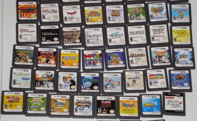Ds Games For First Qt1 Flickr Photo Sharing