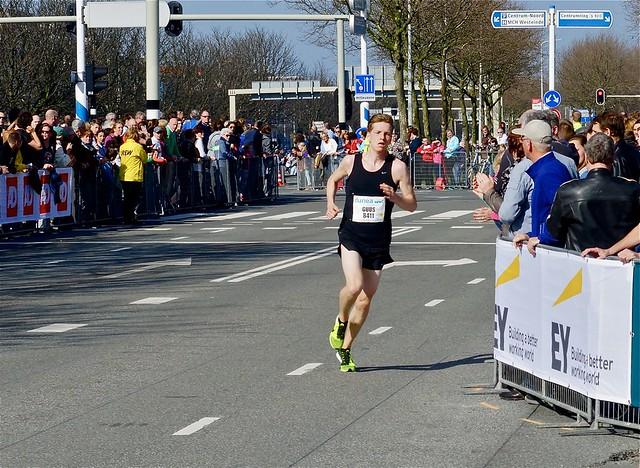 Winnaar 10 kilometer Guus Reijngoud. Foto door Roel Wijnants, op Flickr.