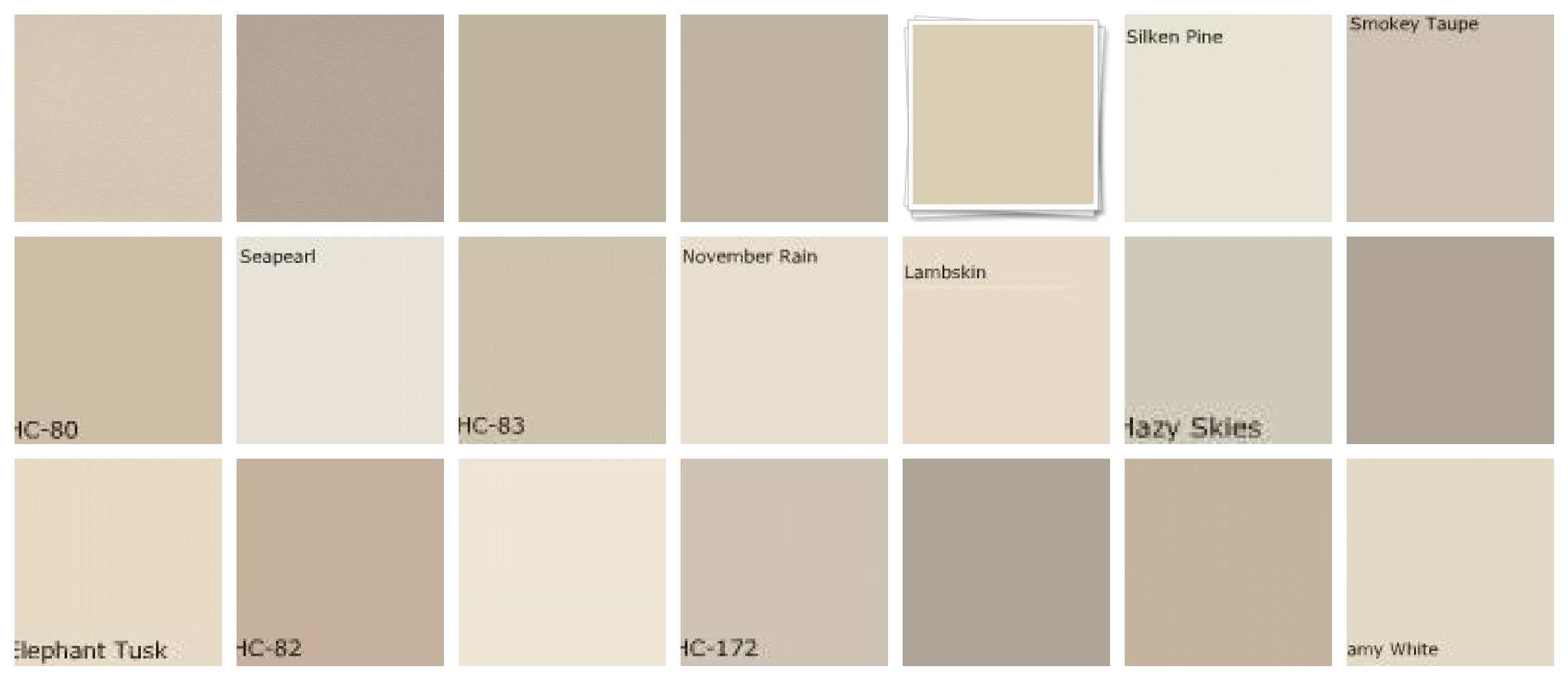 Best Neutral Paint Colors 2017  Grasscloth Wallpaper