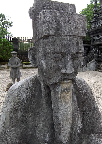 The Royal Tomb of Khai Dinh in Hue, Vietnam