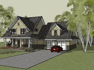 Stillwater Craftsman House Plan Animation